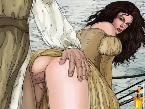 Célébrités de bande dessinée porno