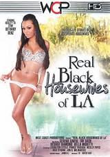 Femmes au foyer noirs véritable de LA Xxx Porn Parody