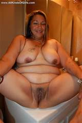 Mature BBW femme mexicaine exposer sa photo nue BBW or 3